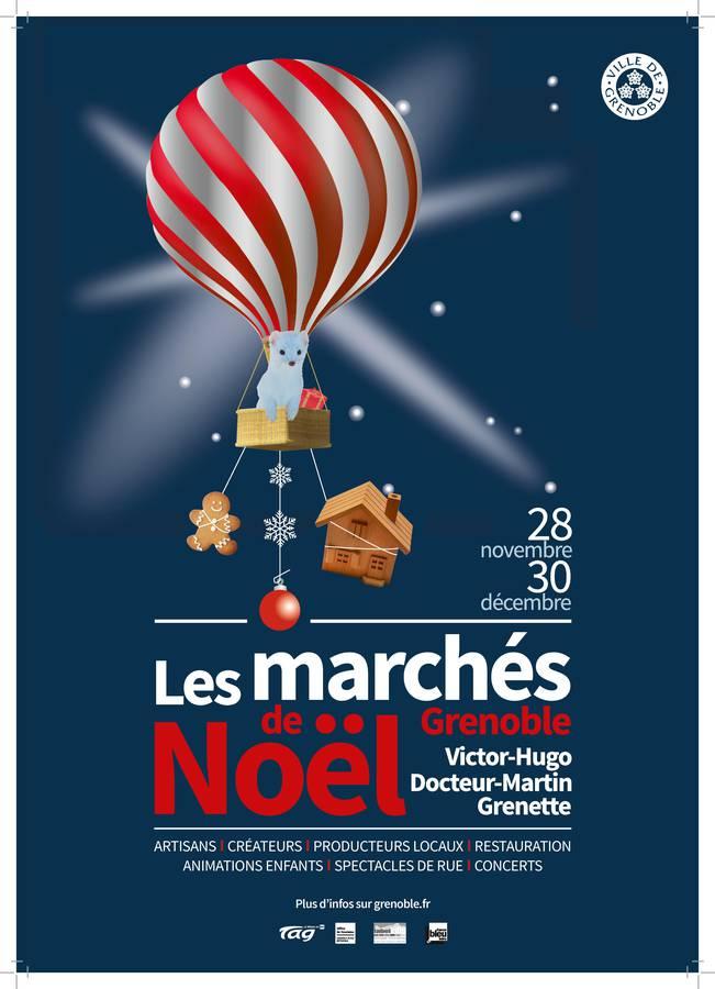 Marché de Noël de Grenoble